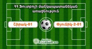 shirak01 pyunik201 juniorfootball.am junior football