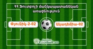 pyunik202 academia02 juniorfootball.am junior football