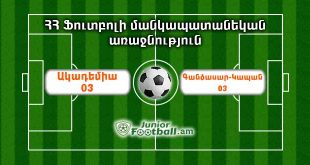 academy03 gandzasarkapan03 juniorfootball.am junior football