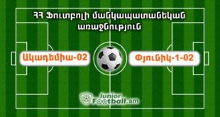 academia02 pyunik102 juniorfootball.am junior football