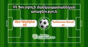 siskilikia03 gandzasaryerevan03 juniorfootball.am junior football