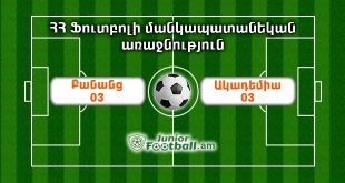 banants03 academy03 juniorfootball.am junior football