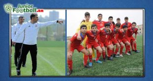 m15 armenia vrastan federation juniorfootball.am junior football