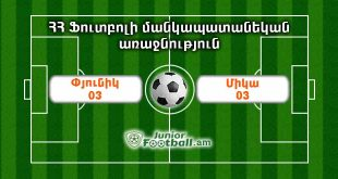 pyunik03 mika03 juniorfootball.am junior football