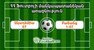 academy07 banants107 juniorfootball.am junior football