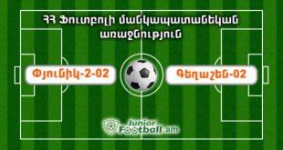 pyunik202 geghashen02 juniorfootball.am junior football