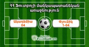 academia04 pyunik104 juniorfootball.am junior football