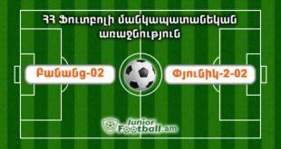 banants02 pyunik202 juniorfootball.am junior football