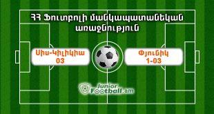 siskilikia03 pyunik103 juniorfootball.am junior football