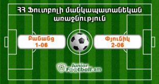 banants106 pyunik206 juniorfootball.am junior football