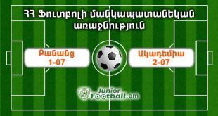 banants107 academy207 juniorfootball.am junior football