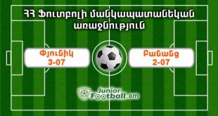 pyunik307 banants207 juniorfootball.am junior football