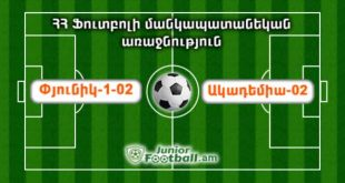 pyunik102 academia02 banants04 juniorfootball.am junior football