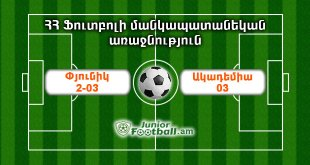 academy03 pyunik203 juniorfootball.am junior football