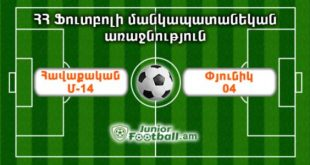 havaqakanm14 pyunik04 juniorfootball.am junior football