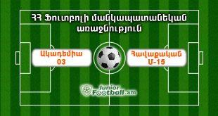 havaqakanm15 academy03 juniorfootball.am junior football