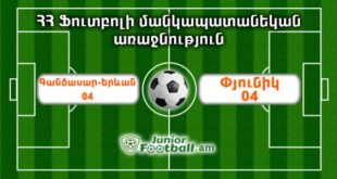 gandzasaryerevan04 pyunik04 juniorfootball.am junior football