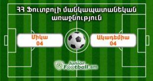 mika04 academia04 juniorfootball.am junior football