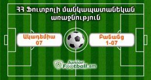 academy07 banants107 juniorfootball.am junior football
