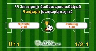pyunik208 banants108 juniorfootball.am junior football
