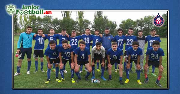 pyunik-mrgashat haytararutyun juniorfootball.am junior football