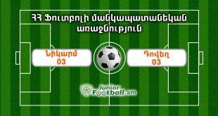 nikarm03 dovegh03 juniorfootball.am junior football