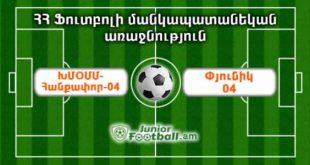 khmomm-hankapor04 pyunik04 juniorfootball.am junior football