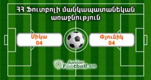 mika04 pyunik04 juniorfootball.am junior football